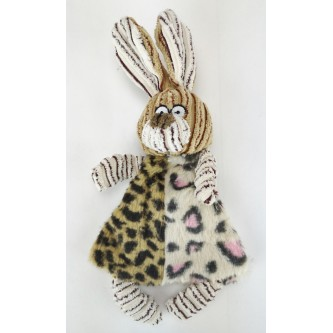 Crinkle Bunny with Squeak
