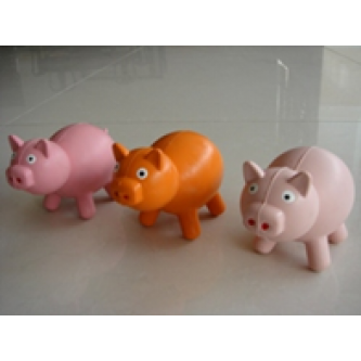 Rubber Pig Toy