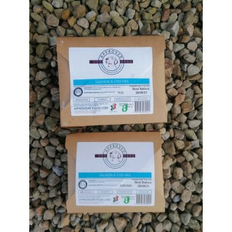 Approved Raw Fish Mix  500g
