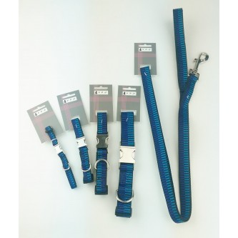 Berkley Collar & Lead Blue