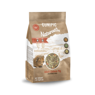 *SPECIAL OFFER* Cunipic Naturaliss Adult Guinea Pig Food 1.81kg regular price €10.25