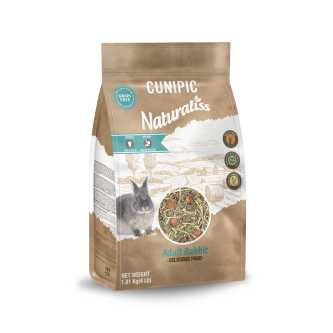 * SPECIAL OFFER* Cunipic Naturaliss Adult Rabbit Food 1.81kg Normal Price €10.25