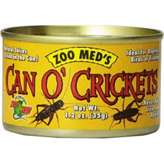 ZooMed Can o' Crickets 35g