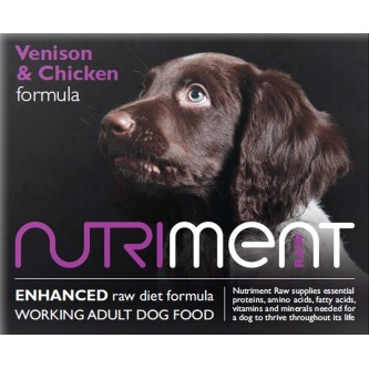 Nutriment Venison with Chicken - 500g