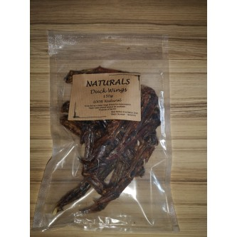 Naturals Duck Wings dried 150g