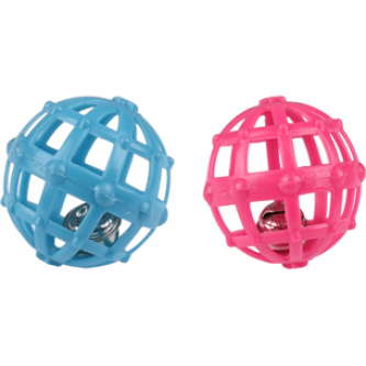 Flamingo Cage Ball and Bell
