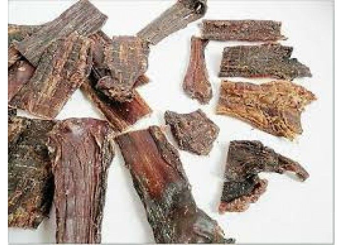 Beef Gullet Dried 500g