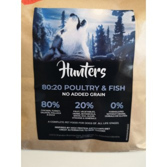 Hunters Poultry & Fish 10kg