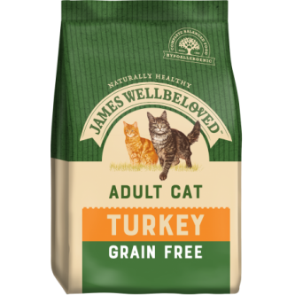 JW Grain Free Cat Turkey 1.5kg