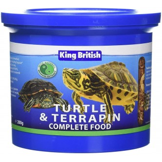 King British Turtle and Terrapin Complete Food 200g