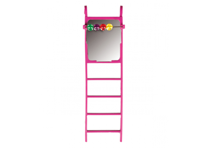 Mirror & Bead Ladder