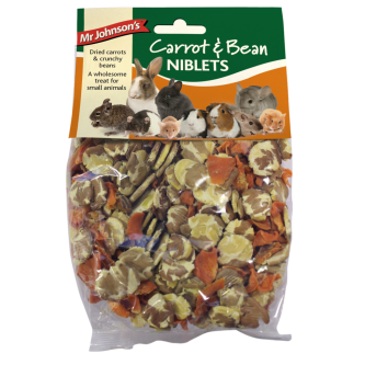 Mr Johnsons Carrot and Bean Niblets 150g