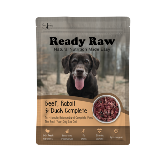 Paleo Ready Raw Beef Rabbit and Duck 200g