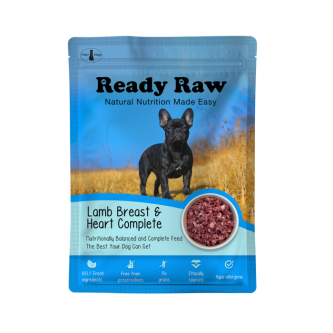 Paleo Ready Raw Lamb Breast and Heart 200g