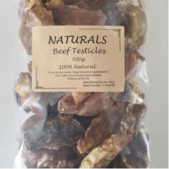 Beef Testicles Dried 500g