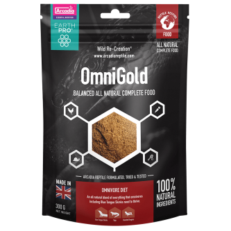 Arcadia OmniGold All Natural Complete Food 300g